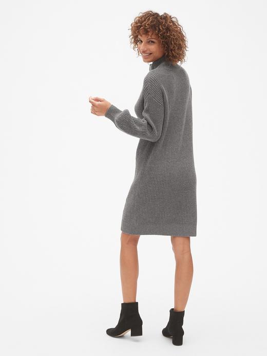 Boğazlı Kazak Elbise
