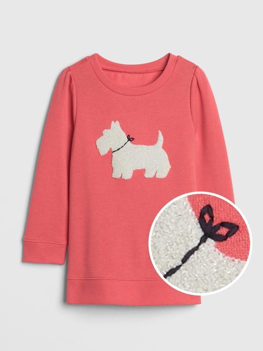 3D Desenli Sweatshirt