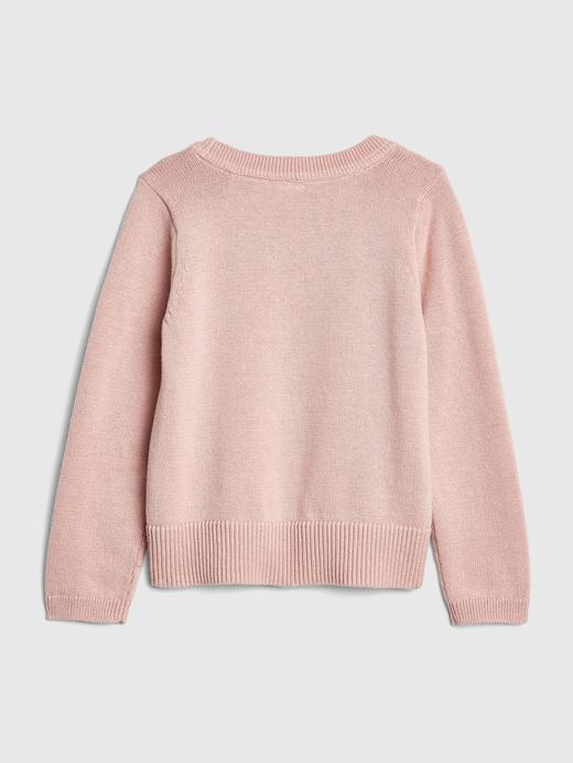 Desenli Sıfır Yaka Sweatshirt