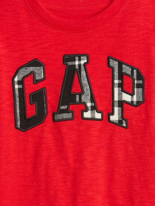 Uzun Kollu Gap Logo T-Shirt