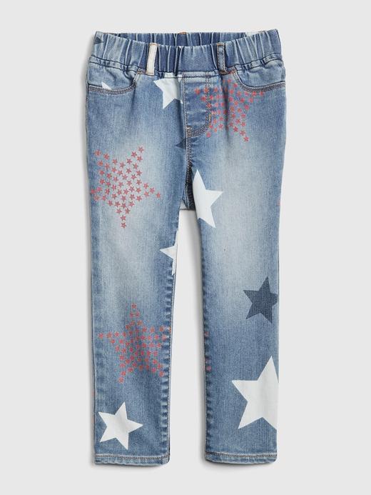 Superdenim Fantastiflex Yıldız Desenli Jegging Tayt Jean Pantolon
