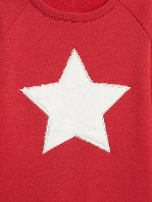 Yıldız Desenli Sweatshirt