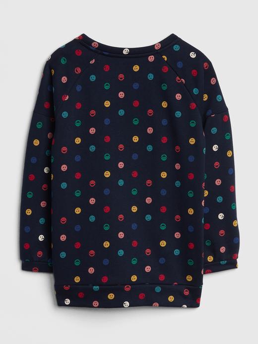 Emoji Desenli Sweatshirt