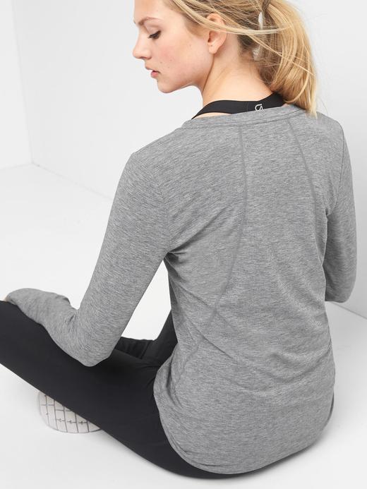 GapFit Breathe uzun kollu t-shirt