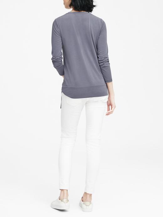 Modal Karışımlı T-Shirt