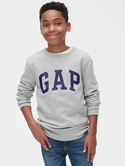 Gap Logo Sıfır Yaka Sweatshirt