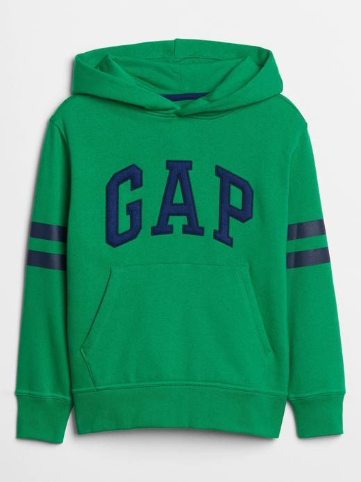 Gap Logo Çizgili Sweatshirt