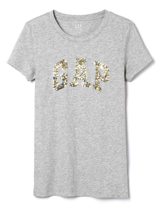 Pullu Logolu Kısa Kollu T-Shirt