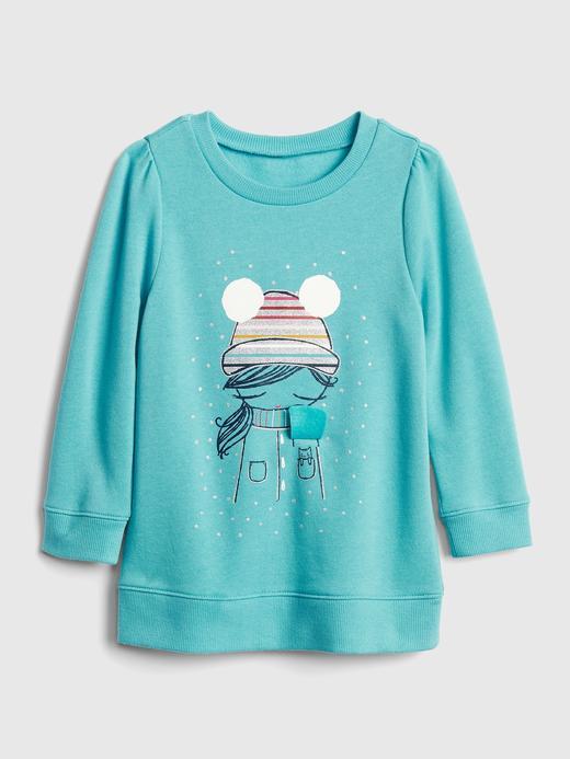 İnteraktif Baskılı Sweatshirt