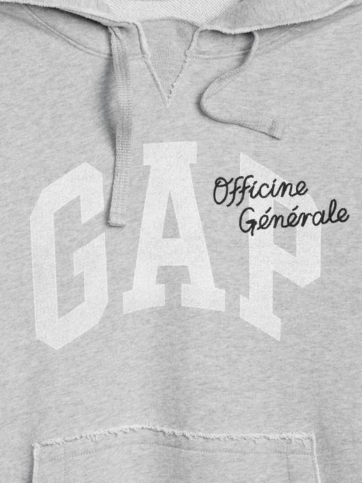 Gap + GQ Officine Generale Kapüşonlu Sweatshirt