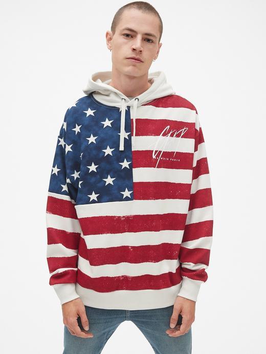 Gap + GQ Balmain Kapüşonlu Sweatshirt