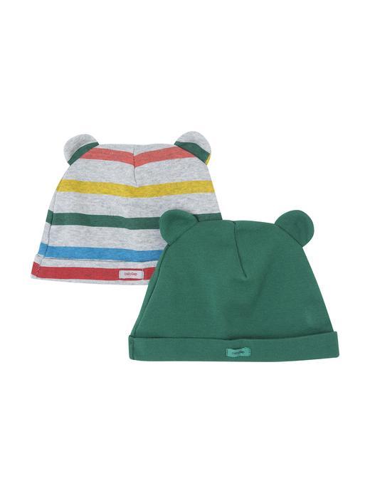 Bebek yeşil 2'li Ayıcık Şapka