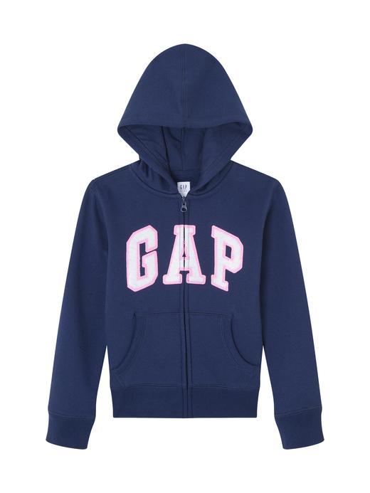 Pullu Gap Logo Kapüşonlu Sweatshirt