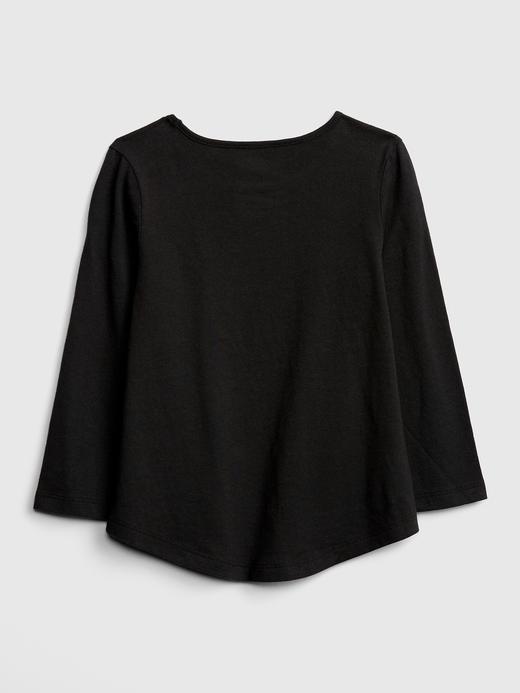 Pırıltılı Baskılı T-Shirt