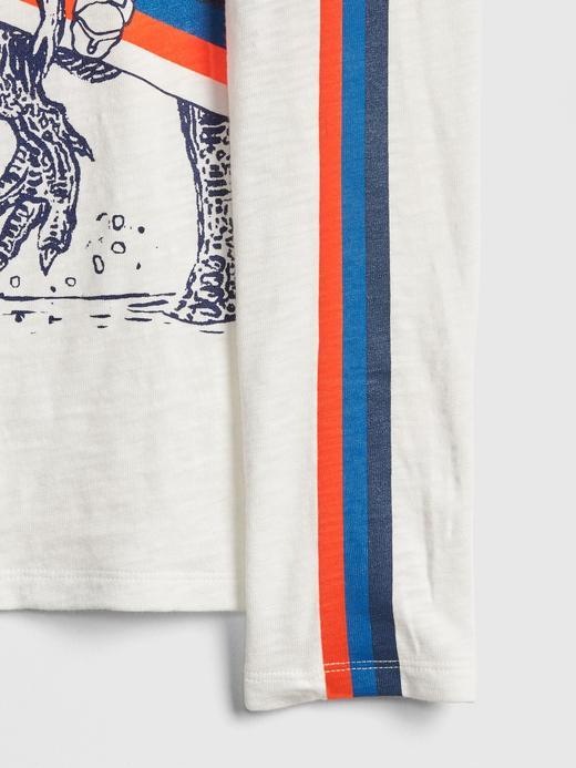 HD Baskılı Uzun Kollu T-Shirt