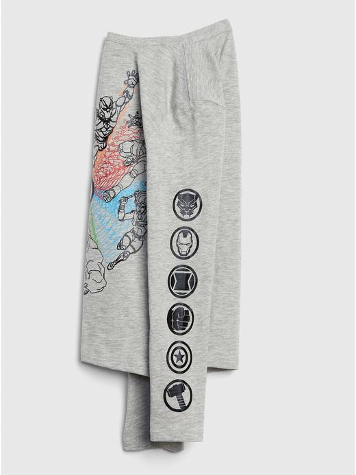 GapKids | Marvel™ Baskılı Uzun Kollu T-Shirt