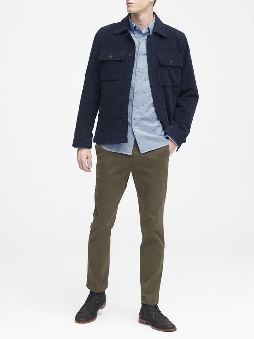 Grant Slim-Fit Pamuklu Oxford Gömlek