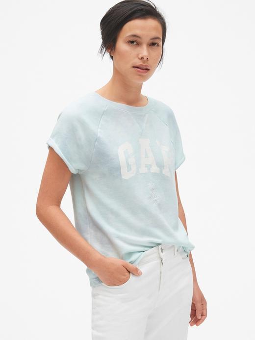 turkuaz Gap Logo kısa kollu t-shirt