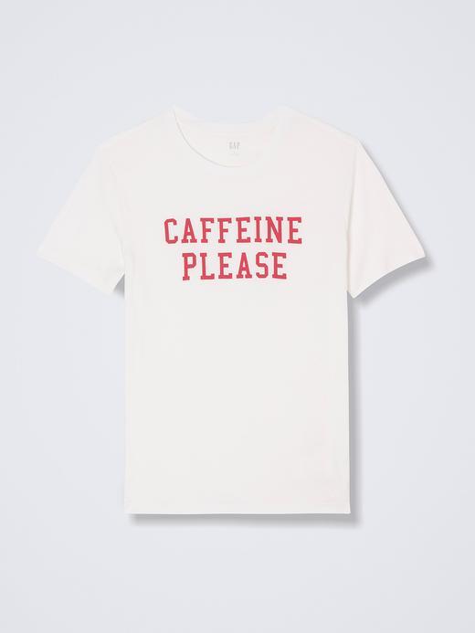 Sloganlı Kısa Kollu T-Shirt