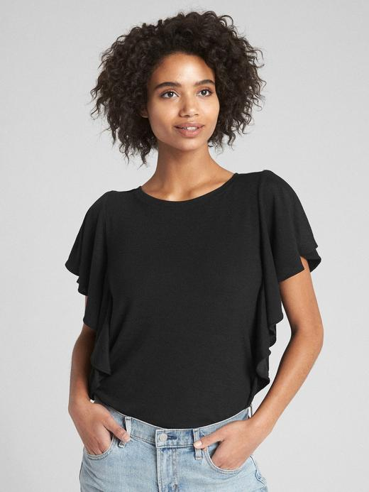Softspun Fırfırlı T-Shirt