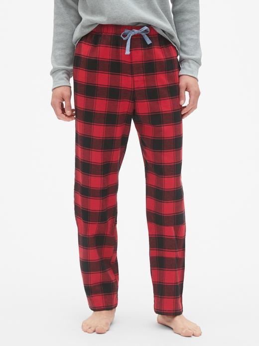 Erkek Kırmızı Desenli Pijama Altı
