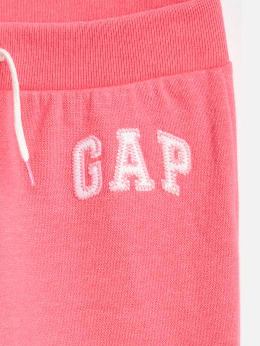 Kız Çocuk açık gri Gap Logo Eşofman Altı