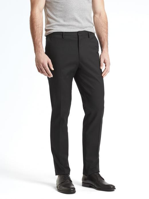 Slim Ütü Gerektirmeyen Streç Pantolon