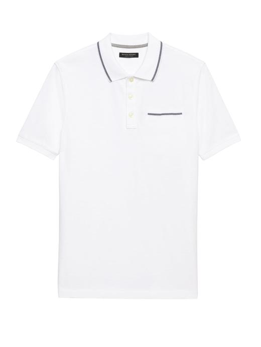 Luxury-Touch Polo Yaka T-Shirt