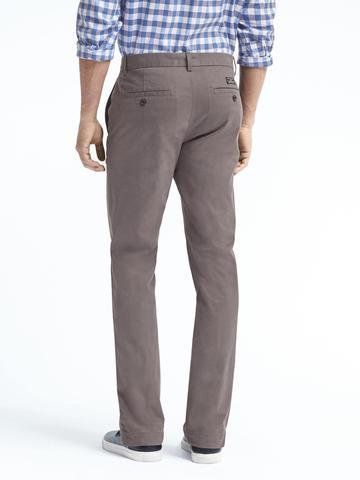 Erkek Bordo Aiden Slim Chino Pantolon (Saf Pamuklu)