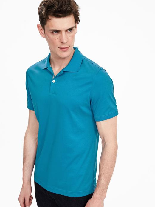 Luxe Touch Polo Yaka T-Shirt