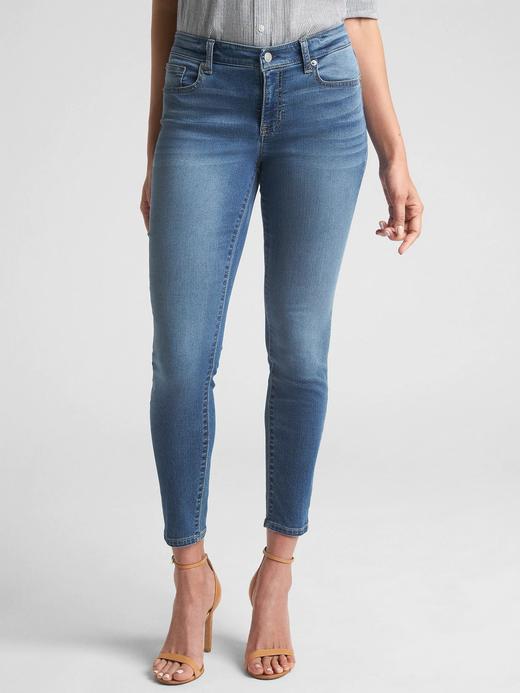 Wearlight Orta Belli Jegging Jean Tayt Pantolon