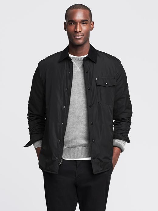 Erkek siyah Siyah Ceket