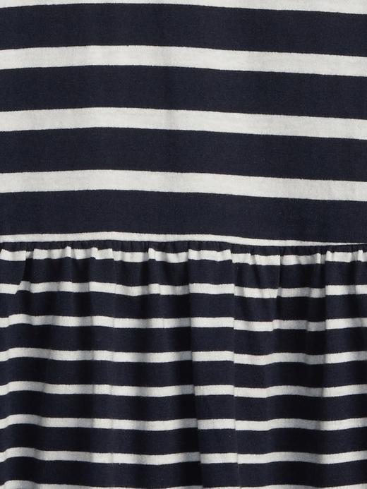 Desenli Uzun Kollu Elbise