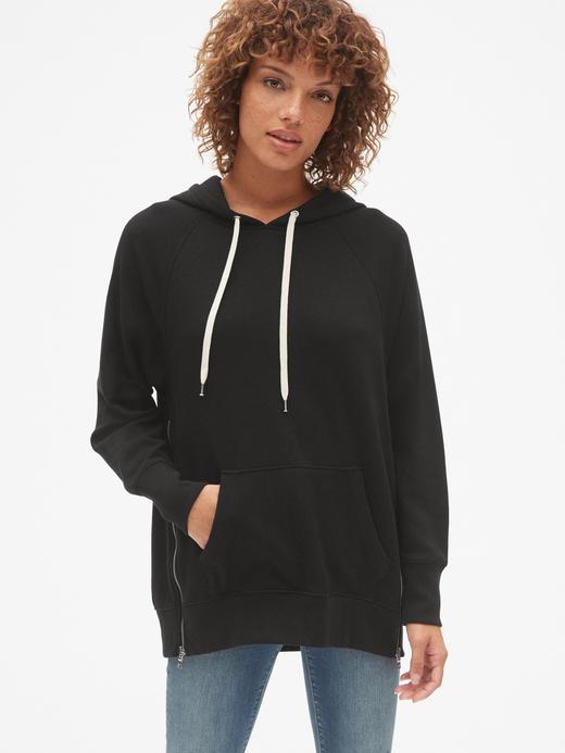 Havlu Kumaşı Bol Kesim Sweatshirt