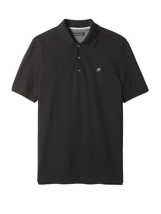 Signature Piqué Polo Yaka T-Shirt