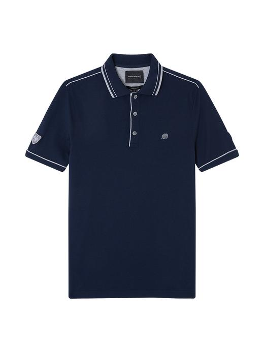 Tipped Pique Polo T-Shirt