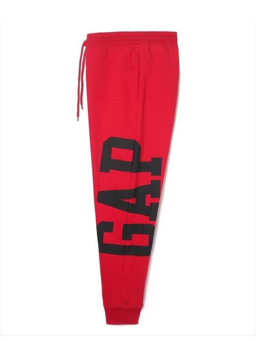 Erkek Kırmızı Gap Logo Eşofman Altı