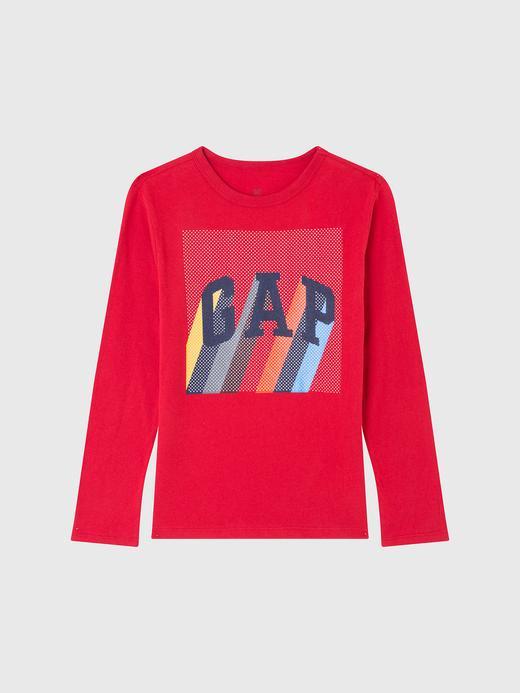 Gap Logo Uzun Kollu T-Shirt