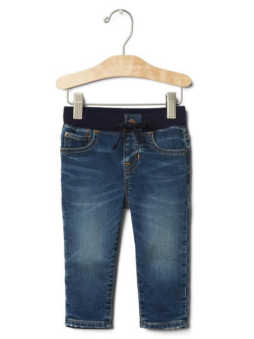 Yumuşak Dokulu Slim Jean Pantolon