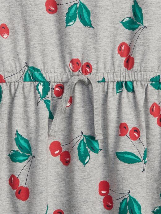 Desenli T-Shirt Elbise