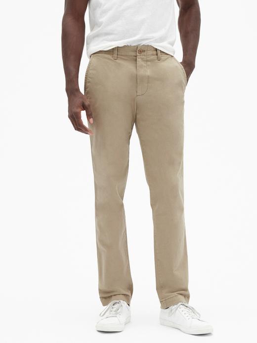 Slim Fit GapFlex Khaki Pantolon