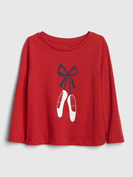 Baskılı Uzun Kollu T-Shirt
