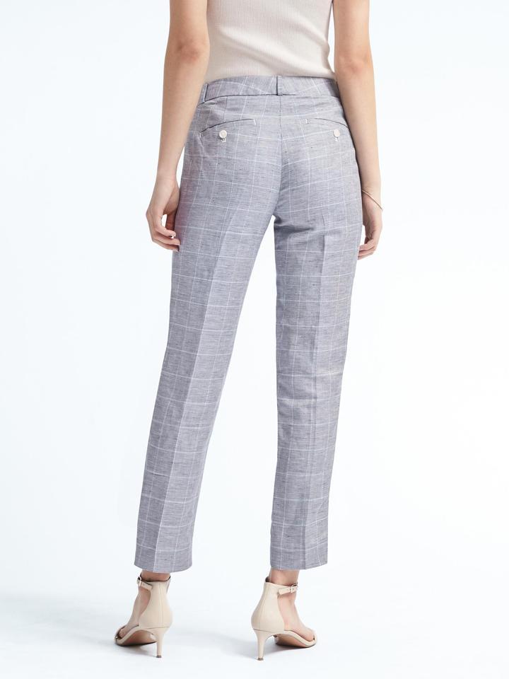 Kadın mavi Avery-Fit Şambre Pantolon