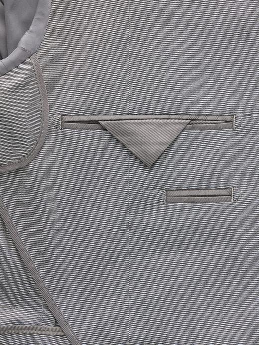 Pamuklu Streç Slim Blazer Ceket