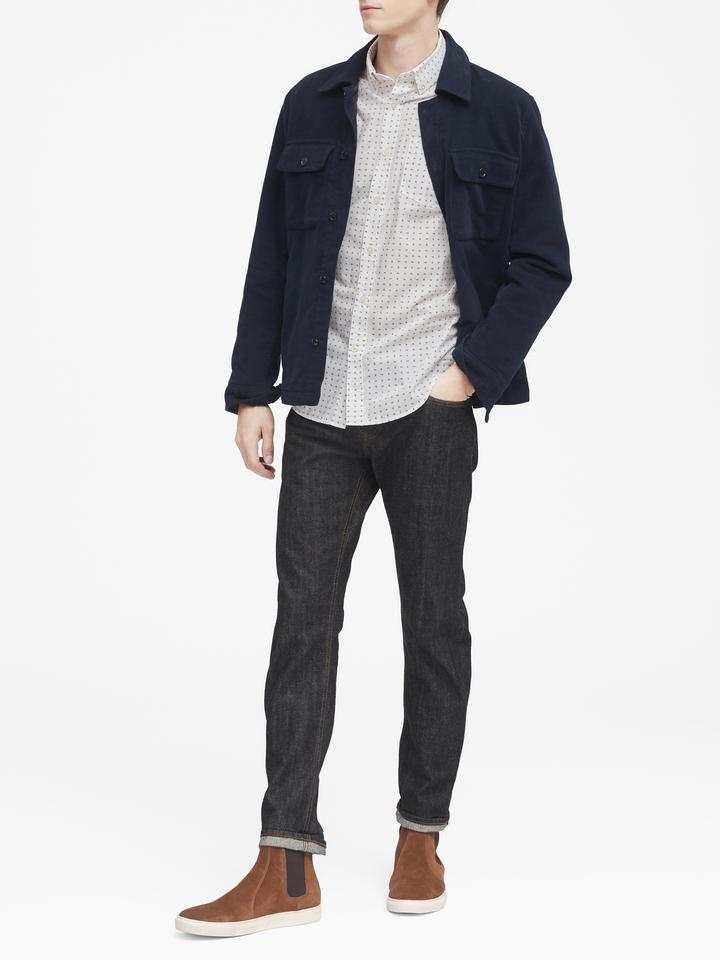 Grant Slim-Fit Luxe Poplin Gömlek