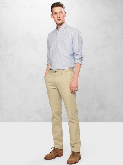 Slim Fit Gap Flex Khaki Pantolon