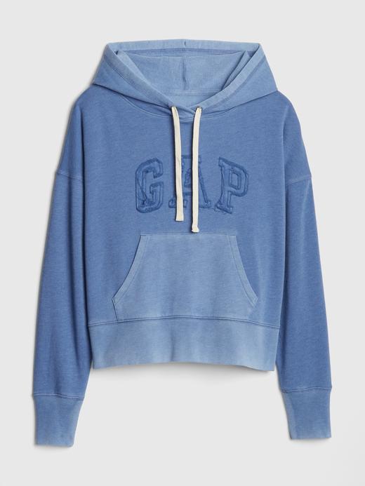 Kadın mavi Gap Logo Vintage Sweatshirt