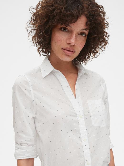Kadın pembe Boyfriend Gömlek