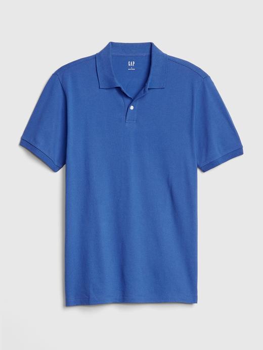 Erkek gül kurusu Erkek Kısa Kollu Pique Polo Yaka T-Shirt