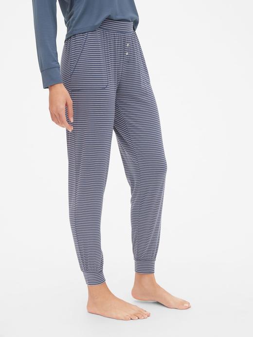 Desenli Modal Karışımlı Pijama Altı